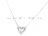 Vòng cổ Tiffany&Co Pt950 kim cương 16P