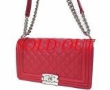 Túi Chanel boy màu đỏ