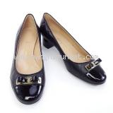 NEW Giày Ferragamo màu đen QUILTED