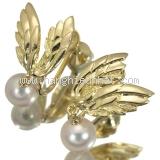 Bông tai Mikimoto đôi cánh