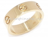Nhẫn Cartier love ring size 53 YG