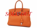 Túi xách Hermes birkin 30 màu cam togo