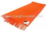 NEW Khăn Hermes cashmere màu cam