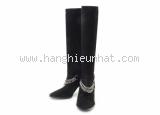 Boot Hermes da lộn màu đen size 37 1/2