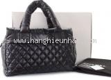 S Túi xách Chanel Cococoon màu đen