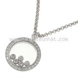 Vòng cổ Chopard 5P kim cương 3926