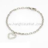 Vòng tay Tiffany&Co Pt950 kim cương