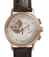 Đồng hồ Zenith vàng hồng K18PG dây da