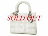 Túi xách Christian Dior màu trắng