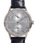 Đồng hồ Patex Philippe K18WG xám bạc 5235G