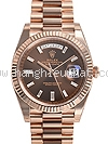 NEW Đồng hồ Rolex nam day-date II 228235 kim cương ống