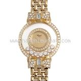 Đồng hồ Chopard K18YG kim cương 7P nơ