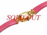 MS4424 Đồng hồ Gucci 6300L dây da hồng