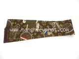 Khăn Louis Vuitton hình túi xách màu nâu