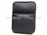 Vali kéo Louis Vuitton damier 55 màu đen N23300