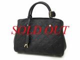 S Túi Louis Vuitton montaigne BB màu đen M41053