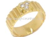 SA Nhẫn Christian Dior K18YG kim cương size 9