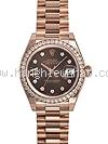 NEW Đồng hồ Rolex K18PG kim cương 279135RBR