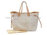 MS3333 Túi Louis Vuitton neverfull GM trắng-MS3333-Tui-Louis-Vuitton-neverfull-GM-trang