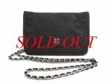 Túi xách hàng hiệu Chanel dây xích màu đen