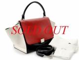 Túi xách Celine màu đen đỏ