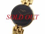 Đồng hồ Christian Dior đen vàng