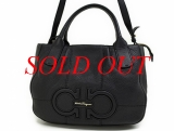 Túi xách Ferragamo izzie màu đen 21D685