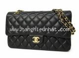 Túi xách nữ Chanel classic flap bag màu đen