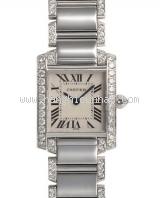 Đồng hồ Cartier K18WG kim cương WE1002SF