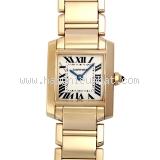 Đồng hồ Cartier K18YG của nữ