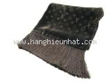 Khăn Louis Vuitton màu đen nâu M71993