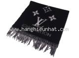 Khăn Louis Vuitton Cashmere màu đen M71040