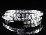 Vòng tay Cartier K18WG kim cương