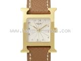 Đồng hồ Hermes mặt số trắng HH1.201