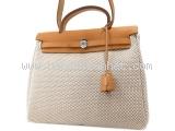 Túi xách Hermes herbag màu nâu