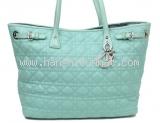 SA Túi xách Christian Dior màu xanh
