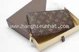 New Ví da Louis Vuitton monogram zippy M60017