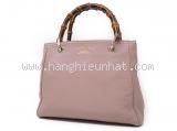 Túi xách nữ Gucci Bamboo Shopper Small Tote màu hồng 336032