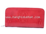 SA Ví da Cartier màu đỏ L3001263