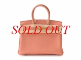 Túi Hermes birkin 30 epson màu hồng