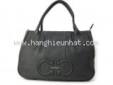 Túi xách Ferragamo IZZIE màu đen 21D684