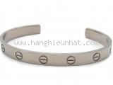 SA Vòng tay Cartier K18WG màu bạc