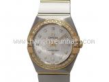 Đồng hồ Omega kim cương màu bạc 123.25.24.60.52.002