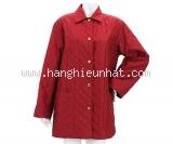 Áo khoác trần bông Ferragamo màu đỏ size M