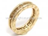 Nhẫn vàng Bvgari B-zero1 size 52