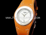 Đồng hồ Hermes dây da nâu HA3.210