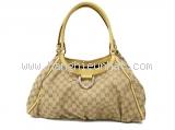 Túi xách Gucci màu be vàng 189835