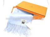 NEW Khăn Hermes cashmere màu xanh blue