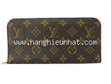 Ví da Louis Vuitton zippy màu nâu  M66563