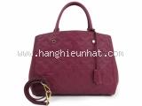S Túi Louis Vuitton Montaigne MM màu đỏ M41196